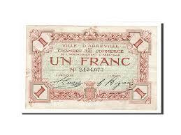 chambre de commerce abbeville 161754 abbeville 1 franc ttb pirot 1 9 ttb 1 franc de