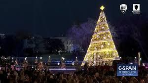 san francisco tree lighting 2017 national christmas tree lighting ceremony nov 30 2017 video c