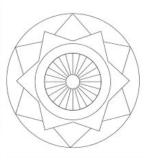 best ideas of printable mandala drawing template on letter