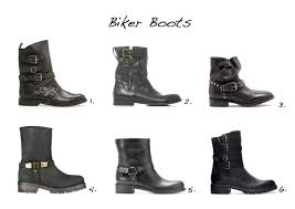 motorcycle style boots biker boots style barista