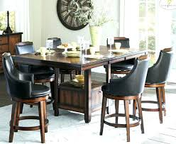 tall dining table and chairs tall dining set furniture 9 piece counter height dining set tall