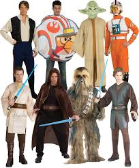 star wars mens fancy dress halloween space sci fi film characters