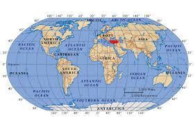 ankara on world map maps