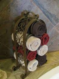 Towel Rack Ideas For Bathroom Colors Bathroom Towel Decorating Ideas Inspired2ttransform Decorating