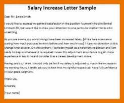 9 salary increment letter budget reporting