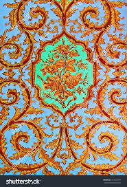 color painting ancient traditional persian style stock color painting ancient traditional persian style mural wall paintings of beautiful flowers at old aristocrat qavam