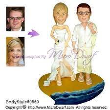 59550 tropical island wedding cake toppers hawaiian wedding