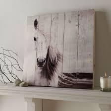 horse print wood wall art grahambrownau