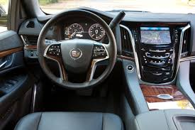 inside cadillac escalade you can the cadillac escalade all you want until you drive