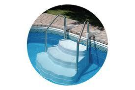 oasis inground drop in step pioneer family pools