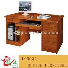 High Quality Computer Desk High Quality Cheap Simple Modern Office Home Mdf Wooden Computer