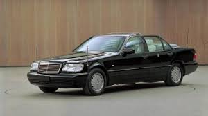 mercedes s class 1997 75 years of popemobile manufacture by mercedes daimler