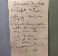 montessori writing paper central montessori church hill people s news richmond virginia adamanda s class rules central montessori