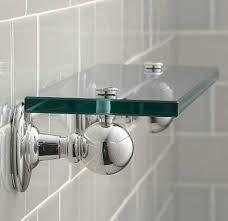 Glass Shelves For Bathrooms by Bathroom Bathroom Glass Shelves Ideas Modern Double Sink