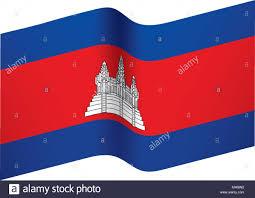 Cambodia Flag Official Flag Of Cambodia Stock Photos U0026 Official Flag Of Cambodia