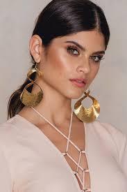 big ear rings big twisted earrings na kd