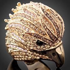 big ladies rings images Buy chran wholesale gold color crystal big ladies jpg