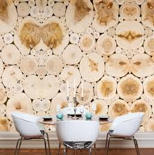 stumps mural wallpaper stumps is a large scale digitally printed wallpaper mural with a pattern of cut wood logs this natural pattern is a great backdrop for creating an organic