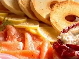 Italian Bread Salad Recipe Ina Garten Bagels With Smoked Salmon And Whitefish Salad Recipe Ina Garten