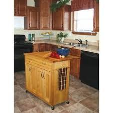 the vinton portable kitchen island with optional stools kitchen