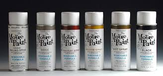 removable movie spray paint 11oz dirt