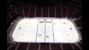 florida panthers hockey ice rink preparation youtube