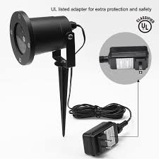 Outdoor Snow Light Projector by White Snow Led Landscape Projector Light Torchstar