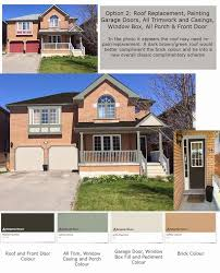 picking exterior paint colours brownie