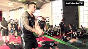 all blacks hit the gym in cardiff youtube