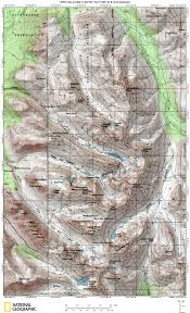 National Geographic Topo Maps Recreational Maps Anchorage Avalanche Center Aac
