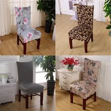 elastic stretch chair cover dining room polyester spandex fabric