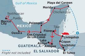 Teotihuacan Map Central America Tours U0026 Trips 2017 2018 Contiki Trafalgar Intrepid