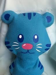 daniel tiger plush toys daniel tiger inspired tigey the adventure tiger stuffed animal