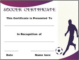 30 soccer award certificate templates free to download u0026 print