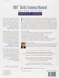 dbt skills training manual second edition marsha m linehan