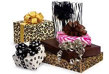 zebra print wrapping paper animal print wrapping paper made in america usa gift
