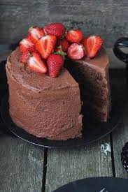 chocolate strawberry cake strawberry fruit chocolate cake and