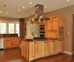 brown chery kitchen l shaped layout with island of awesome white