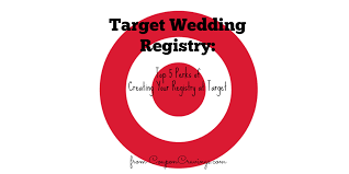 bridal registration target gift registry wedding wedding ideas