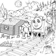 10 images of thomas and the magic railroad coloring pages thomas