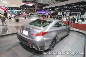 rcf lexus 2017 lexus rc f 10th anniversary edition front at 2017 tokyo motor show