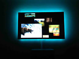 philips hue light strip behind tv anyone led light strips behind tv worked with led strip lighting avs