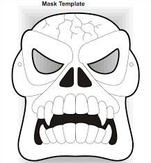 mask template 19 scary masks free vector ai eps pdf format free