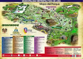 Lima Map Parque De Las Leyendas