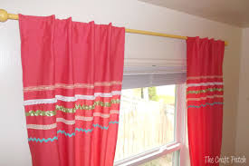 the craft patch the cheapest curtain rod and easy almost no sew