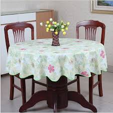 round table cloth covers pastoral round table cloth pvc plastic table cover flowers printed