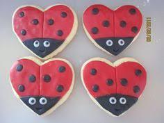 ladybug cookies we absolutely these ladybug shaped cookies they make fabulous