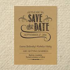 Free Save The Date Cards Diy Kraft Paper Wedding Save The Date Handlettered Rustic Love