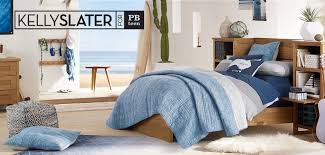 Pottery Barn Tropical Bedding Kelly Slater Collection Pbteen