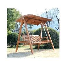 outdoor glider with canopy wooden swing with canopy home decor